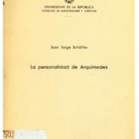 SCHÄFFER, Juan Jorge - La personalidad de Arquímedes.PDF