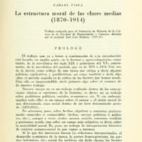 VISCA, Carlos - La estructura moral de las clases medias (1870-1914).PDF