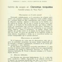 TALICE, Rodolfo V.; LAFFITTE DE MOSERA, Susana - Instinto de acopio en Ctenomys torquatus.PDF
