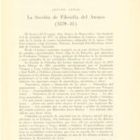 ARDAO, A. - La sección de filosofía del Ateneo (1879-81) p. 129-143.PDF