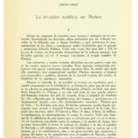 ORIBE, Emilio - La intución estética de Plotino.PDF