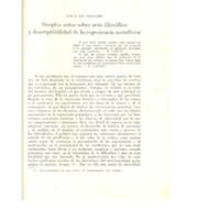 Simples notas sobre acto filosófico y descriptibilidad de la experiencia metafísica - GIL SALGUERO, Luis E..pdf