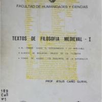 CAÑO GUIRAL, Jesus - Textos de filosofia medieval.pdf