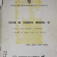 CANO GUIRAL, Jesus - Textos de Filosofia Medieval.pdf