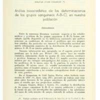 BARAIBAR, Bolivar César - Análisis bioestadístico de las determinaciones de lso grupos sanguíneos A-B-O....PDF