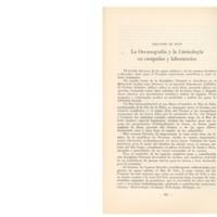 DE BUEN, Fernando - La oceanografía y la limnología en campañas y laboratorios.PDF