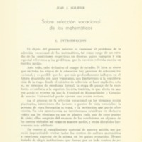 SCHÄFFER, Juan J. - Sobre selección vocacional de los matemáticos.PDF