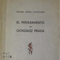 CALCAGNO, Miguel Angel - El pensamiento de Gonzale.pdf