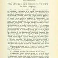 CHEBATAROFF, Jorge - Dos géneros y ocho especies nuevas para la flora uruguaya.PDF
