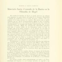 SILVA GARCÍA, Mario - Itinerario hacia el mundo de la razón en la filosofía de Hegel.PDF