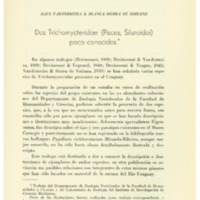 VAZ-FERREIRA, Raúl; SIERRA DE SORIANO, Blanca - Dos Trichomycteridae (Pisces, Siluroidei).PDF
