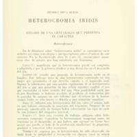SILVA DURAN, Zelmira - Heterocromia Iridis estudio de una genealogía que presenta el caracter.PDF