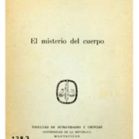 SILVA GARCIA, Mario A. - El misterio del cuerpo.PDF