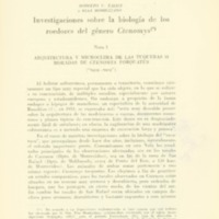 TALICE, Rodolfo; MOMIGLIANO, Elsa - Investigaciones sobre la niología del los roedores del género Ctenomys.PDF