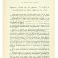 ARTAGAVEYTIA-ALLENDE, R. C. - Especies afines en el género Candida consideraciones sobre algunas de ellas.PDF