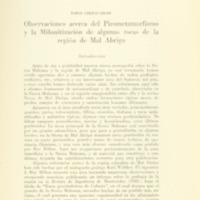 CHEBATAROFF, Jorge - Observaciones acerca del pirometamorfismo  y la milonitización de....PDF