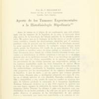 BIELSCHOWSKY, F. - Aporte de los Tumores Esperimentales a la Histofisiologia Hipofisaria.PDF