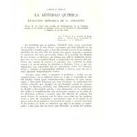 La afinidad química evolución histórica de su concepto. - PRELAT, Carlos E..pdf