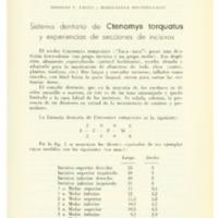 TALICE, Rodolfo V.; BOUSOÑO-UNGO, Maria Elena - Sistema dentario de Ctenomys torquatus y experiencias.PDF