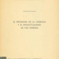 CAMPO, Aníbal del - El problema y el intelectualismo de Vaz Ferreira.PDF