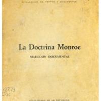 La doctrina Monroe selección documental.PDF