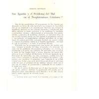 San Agustín y el problema del Mal en el Neoplatonismo Cristiano - MONDOLFO, Rodolfo.pdf