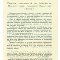 SIERRA DE SORIANO, Blanca - Elementos constitutivos de una habitación de Myocastor coypus bonariensis.PDF