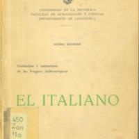 ZANNIER, Guido - El Italiano.PDF
