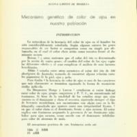 LAFFITTE DE MOSERA, Susana - Mecanmismo genético de color de ojos en nuestra población.PDF