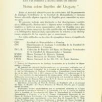 VAZ FERREIRA, Raúl ; SIERRA DE SORIANO, Blanca - Notas sobre Reptiles del Uruguay.PDF