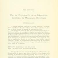 SOSA, Julio María - Plan de organización de un laboratorio citológico de microscopía electrónica.PDF