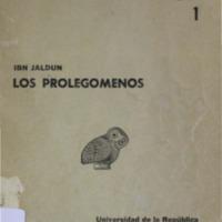 JALDUN, Ibn, Los Prolegomenos.pdf