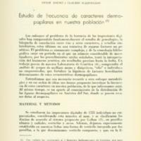 KOLSKI, Reneé; SCAZZOCCHIO, Claudia - Estudio de frecuencia de caracteres dermopapilares.PDF