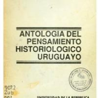 ZUBILLAGA, Carlos - Antología del pensamiento historiológico uruguayo.PDF