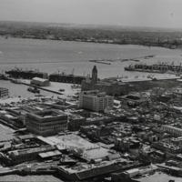 Vista parcial de la Ciudad Vieja y Bahía.