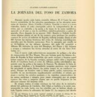 SANCHEZ-ALBORNOZ, Claudio - La jornada del foso de zamora.pdf