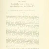 MASSERA, José L. - Estabilidad total y vibraciones aproximadamente periódicas.PDF