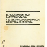 OLIVÉ, León - El realismo científico, la experimentación y el desarrollo de los marcos conceptuales en ciencia.PDF