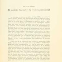 ROMERO, José Luis - El espíritu burgués y la crisis bajomedieval .PDF