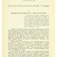 BENTANCUR DÍAZ, J. - La filosofía de la historia de Arnold J. Toynbee.PDF