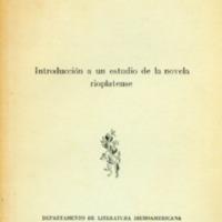 CALCAGNO, Miguel Angel - Introducción a un estudio de la novela rioplatense.PDF