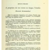 FERRARIO, Benigno - A propósito de tres textos en lengua Tsóneka.PDF