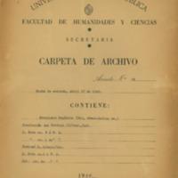 Legajo Francisco Espínola<br /><br />