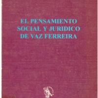 ANDREOLI, Miguel - El pensamiento social y jurídico de Vaz Ferreira.PDF