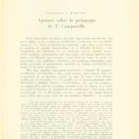 MARCIANO, Francisco E. - Apuntes sobre la poedagogía de C. Campanella.PDF