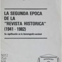 ZUBILLAGA, Carlos - La segunda época de la revista.pdf