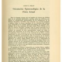 PRELAT, Carlos E. -  Orientación Espistemológica de la Física Actual.pdf