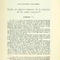 CERNUSCHI, Felix ; AMORIN, Julio - Estudio de algunos aspectos de la evolución de las nubes cósmicas.PDF
