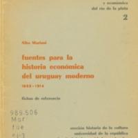 MARIANI, Alba - Fuentes para la historia económica del Uruguay moderno 1852-1914.PDF