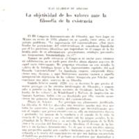 LLAMBIAS DE AZEVEDO, Juan. La objetividad de los valores ante la filosofía de la existencia p. 27-60.pdf
